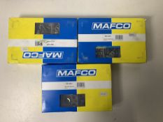 3 x Boxes of Mafco ASST Steel Nuts Metr