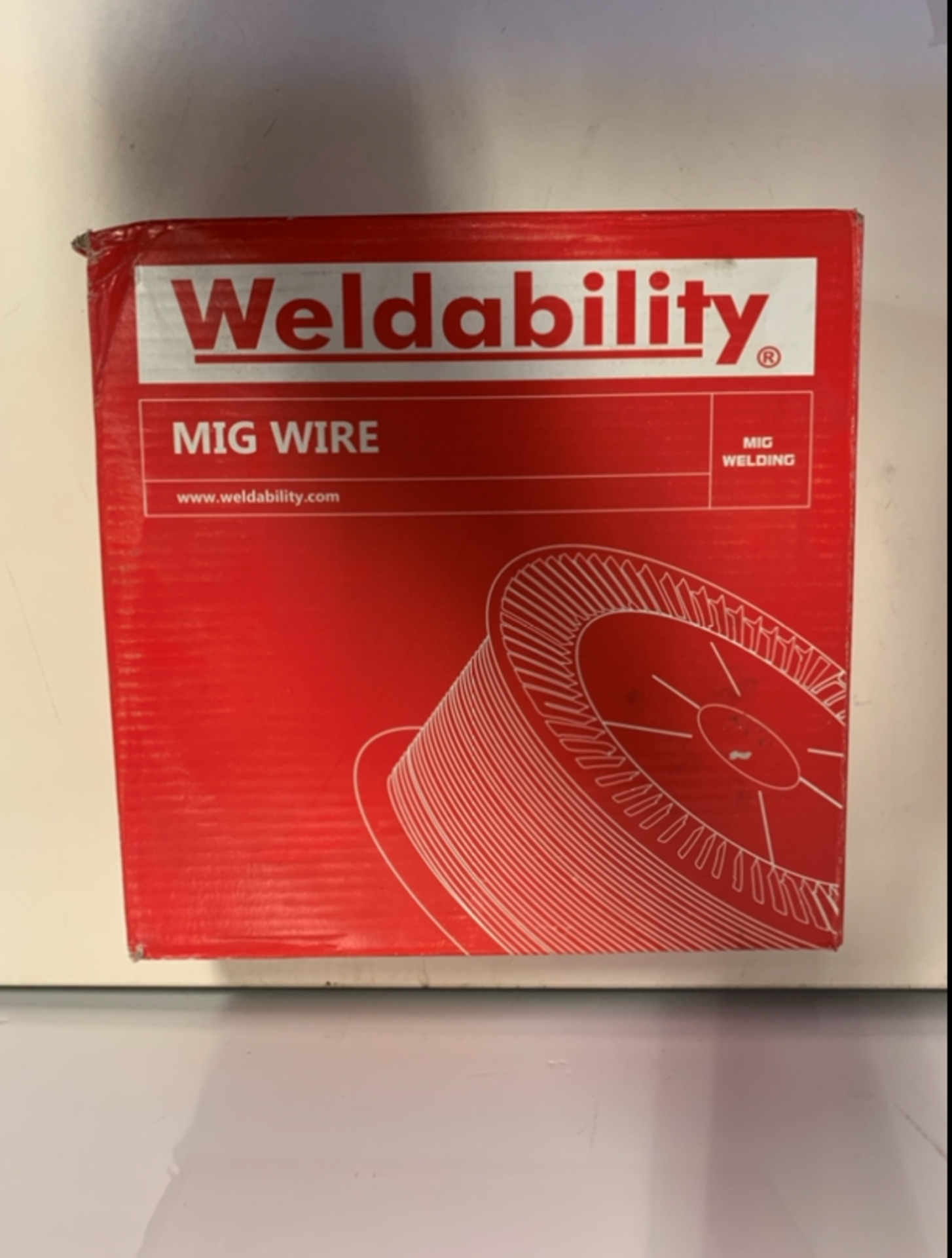 Lot 12 - 2 x Weldability Sif VZ180815LW A18/G3Si1 MIG Wire 0.8mm 15kg
