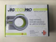 Jigtech Professional Installation Kit Fast Fitting Door Handle & Latch System