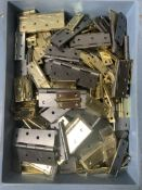 Quantity Of Various Sized Door Hinges