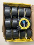 12 x Advent Professional Tape Measure 5m/16ft