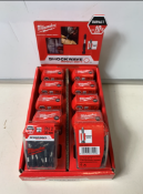 10 x 25piece Milwaukee PH 2 Screwdriver Bit 25mm