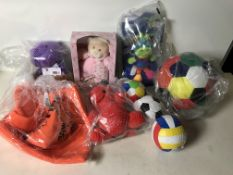 Large Selection of Various Soft Toys