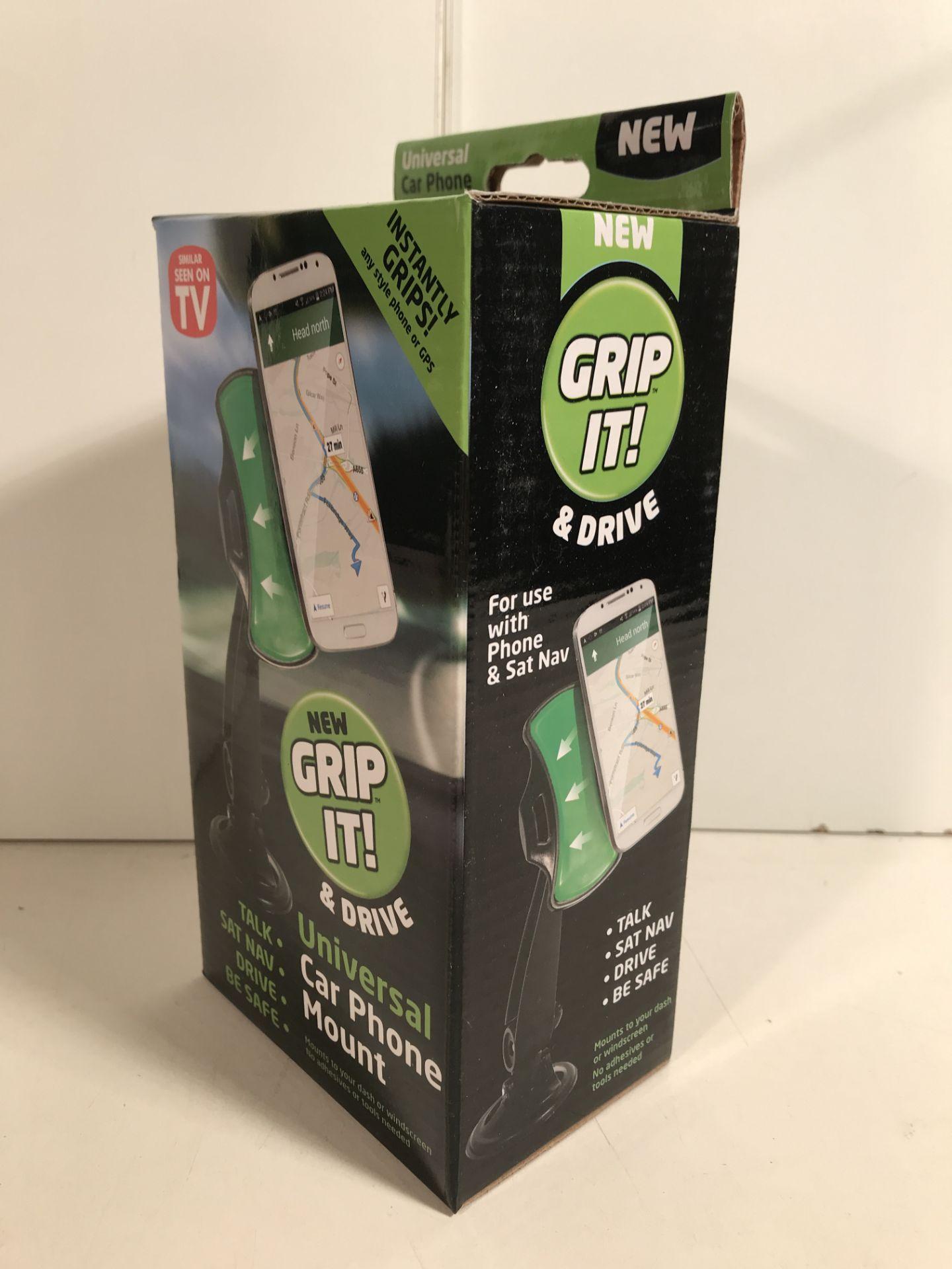 Lot 55 - 7 x GRIP IT! Universal Car Phone Mount