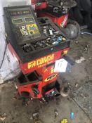 Corghi EM43 Hand Spin Tilt Computer Wheel Balancer