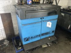 Allen Mobile 2 Door Workstation