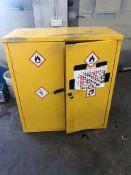 Metal 2 Door COSHH Cupboard