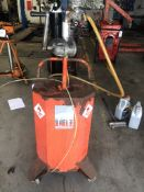 Baelz Mobile Fuel Drainer