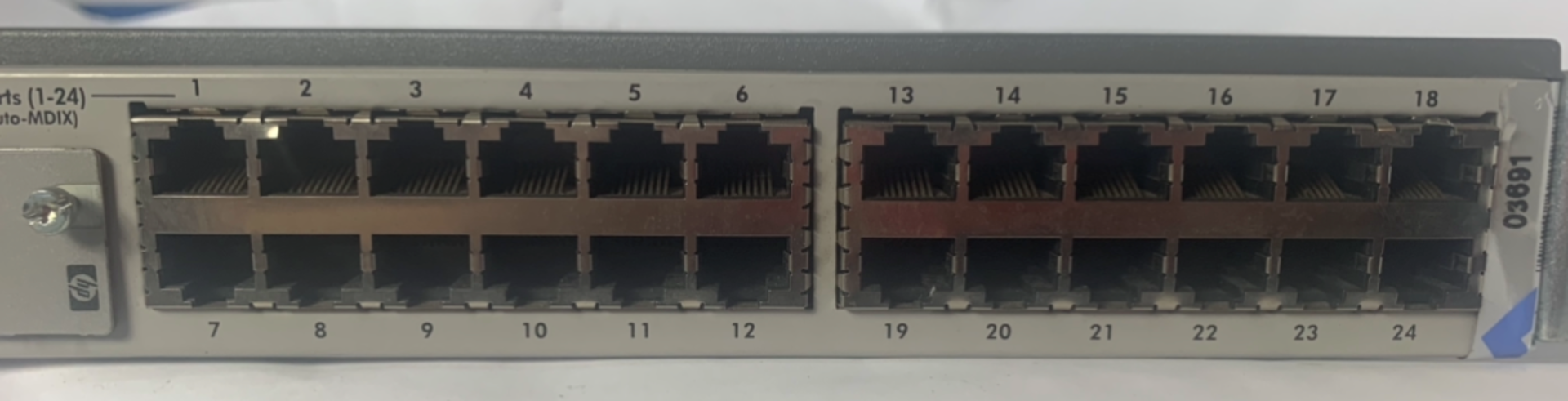 Lot 49 - HP J4818A Pro 24 Port Switch