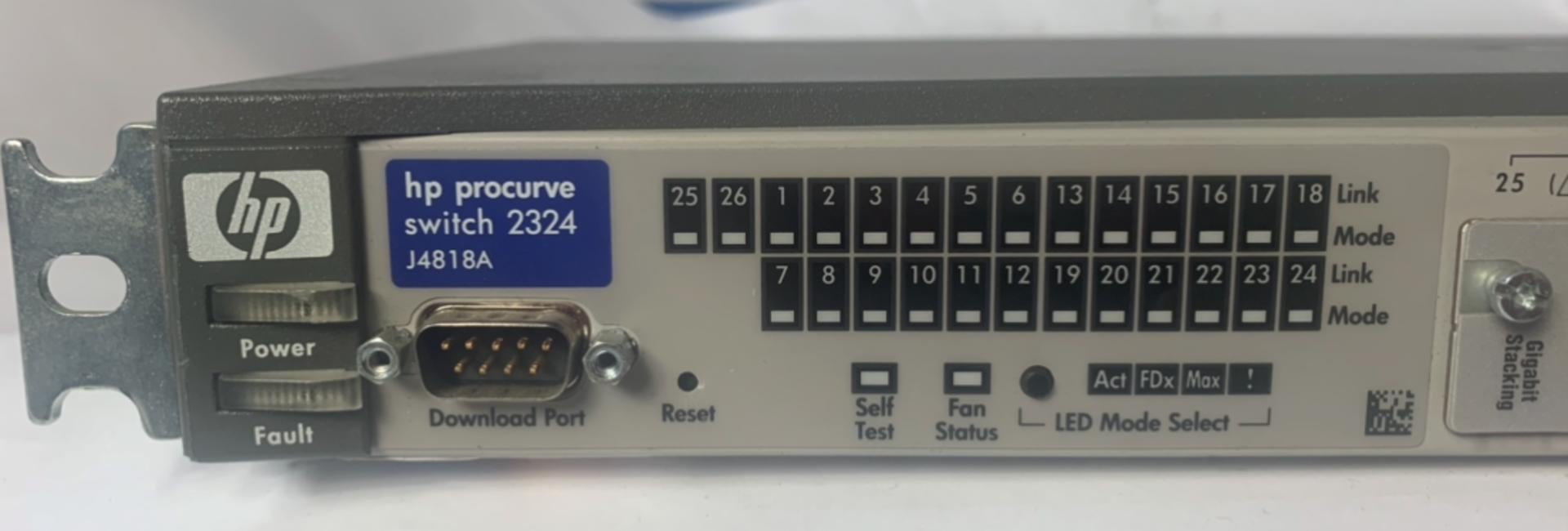Lot 51 - HP J4818A Pro 24 Port Switch