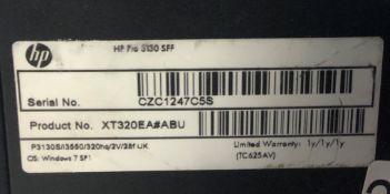 HP Pro 3130 SFF Desktop Computer
