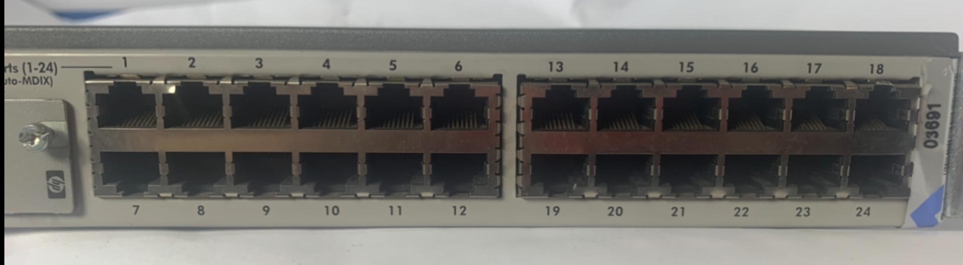 Lot 47 - HP J4818A Pro 24 Port Switch