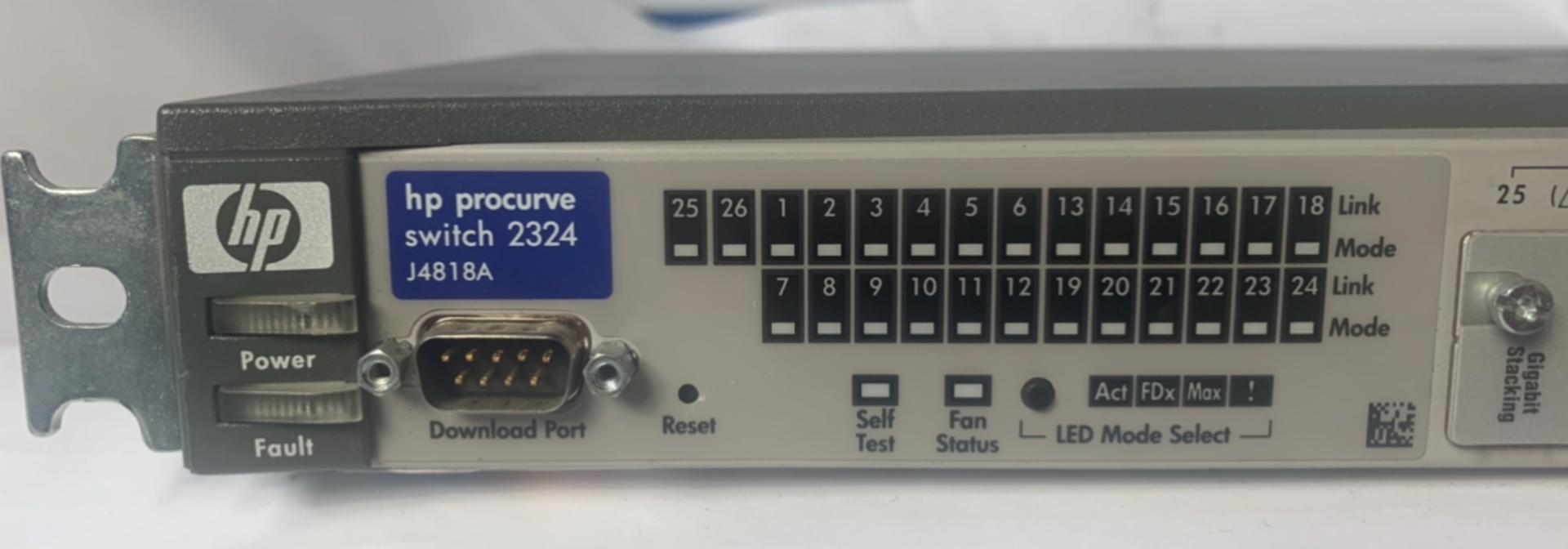 Lot 48 - HP J4818A Pro 24 Port Switch