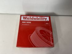 2 x Weldability Sif VZ181215LW A18/G3Si1 MIG Wire 1.2mm 15kg