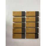 "10 x Pairs Of Zoo Hardware Satin Stainless Steel Door Ball Bearing Hinges Grade 13 4"" x 3"" x 3mm"