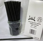 2 x Boxes of Biodegradable Jumbo Straws by 888 Gastro Disposables | DSP51