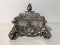 Distressed Pewter Ornate Trinket Box | RRP £24.00