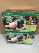 2 x Florabest Stainless Steel Garden Pump FGP 1000 A1
