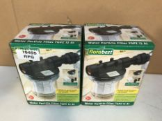 2 x Florabest Water Particle Filter FGPZ 12 A1