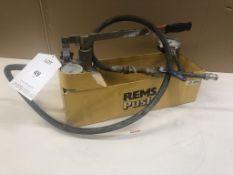 REMS Push Hand Pressure Testing Pump