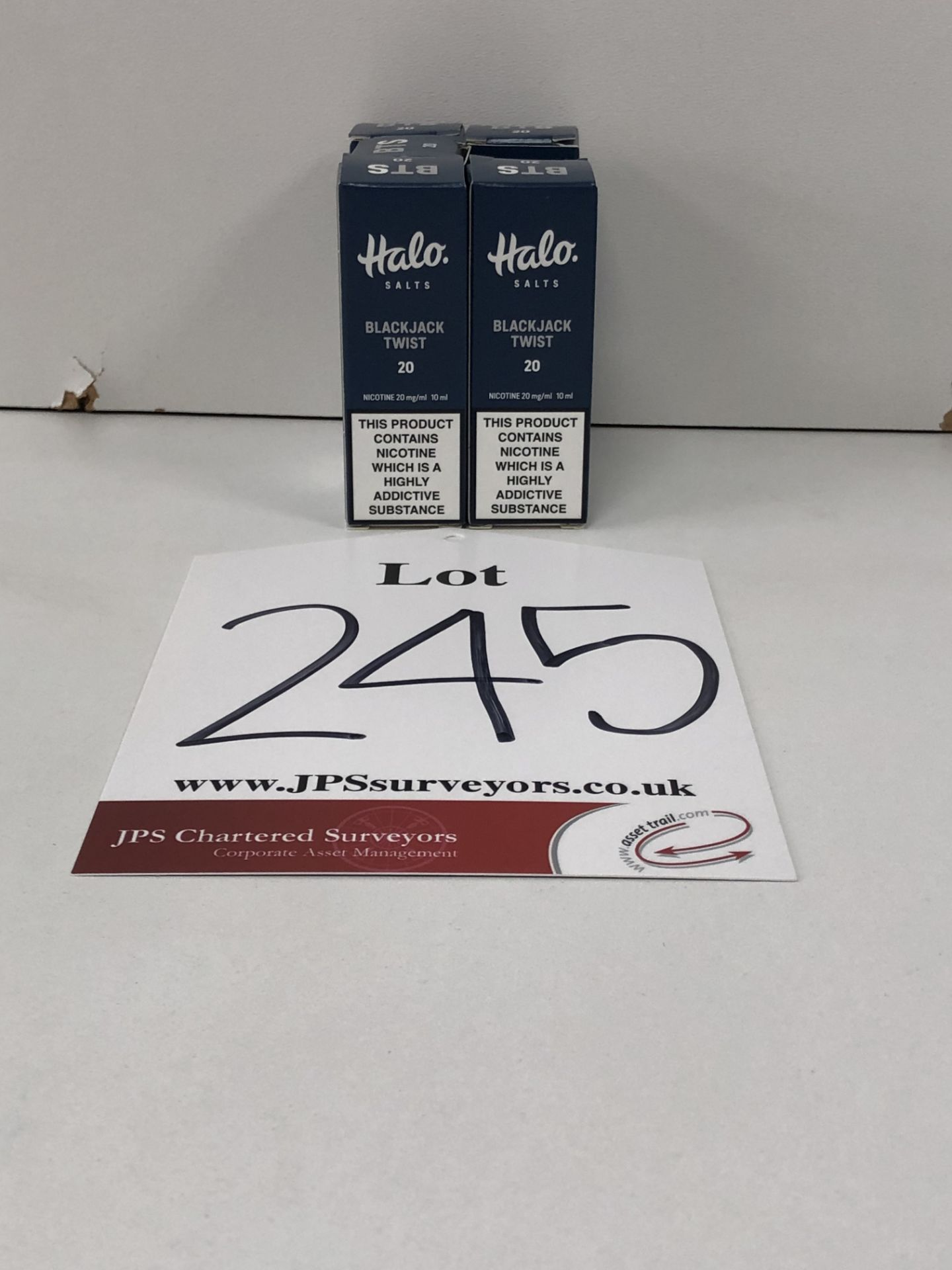 Lot 245 - 9 x Vapour co Classic virginia Halo salts 20 Mg/Ml BNIB - 10 ml |96187630