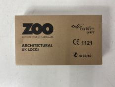 5 x Zoo Hardware Euro Profile Sash Locks 2.5""