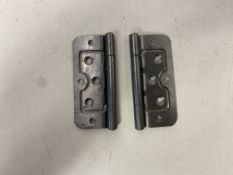 Mixed Lot Of Various Sized Crompton Hardware Hurlinge Self Locating Hinges