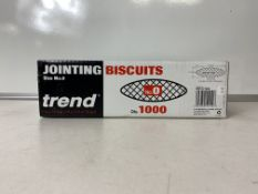 3 x Boxes Of Trend Size No.10 Jointing Biscuits - 1000 Per Box