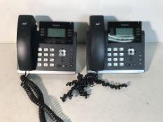 4 x Yealink Network Desk Phones