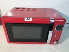 Wilko 20L Microwave Oven