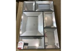 Ex Display Wall Mountable Pulsar One Piece Mirror | Damaged - As shown on the pictures