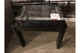 Ex Display 2052 Lamp Table in Black | RRP£229