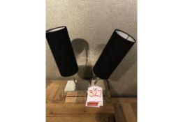 Ex Display Double Espresso Table Lamp | RRP £69