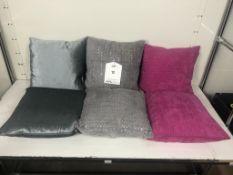 6 x Various Sofa Cushions