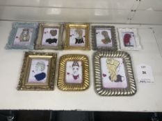 8 x Various Wall Mountable Picture Frames