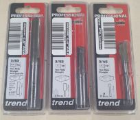 Mixed Lot Of Trend Drill Bits & Accessories