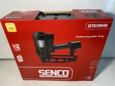 Senco GT65RHS Cordless Gas Nail Gun Second Fix 16 Gauge Nailer (Straight Nails)