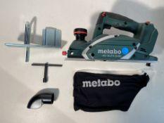 Metabo HO18LTX20-82 18v LTX 20-82 Planer With MetaLoc