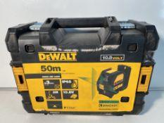 DeWalt DCE088D1G 10.8V 50m/165' Cross Line Laser