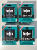 4 x Heller HSS Bi-Metal Hole Saw 92mm