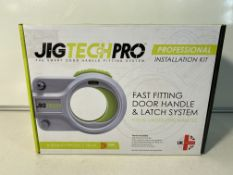 Jigtech Pro Installation Kit Smart Door Handle Fitting System