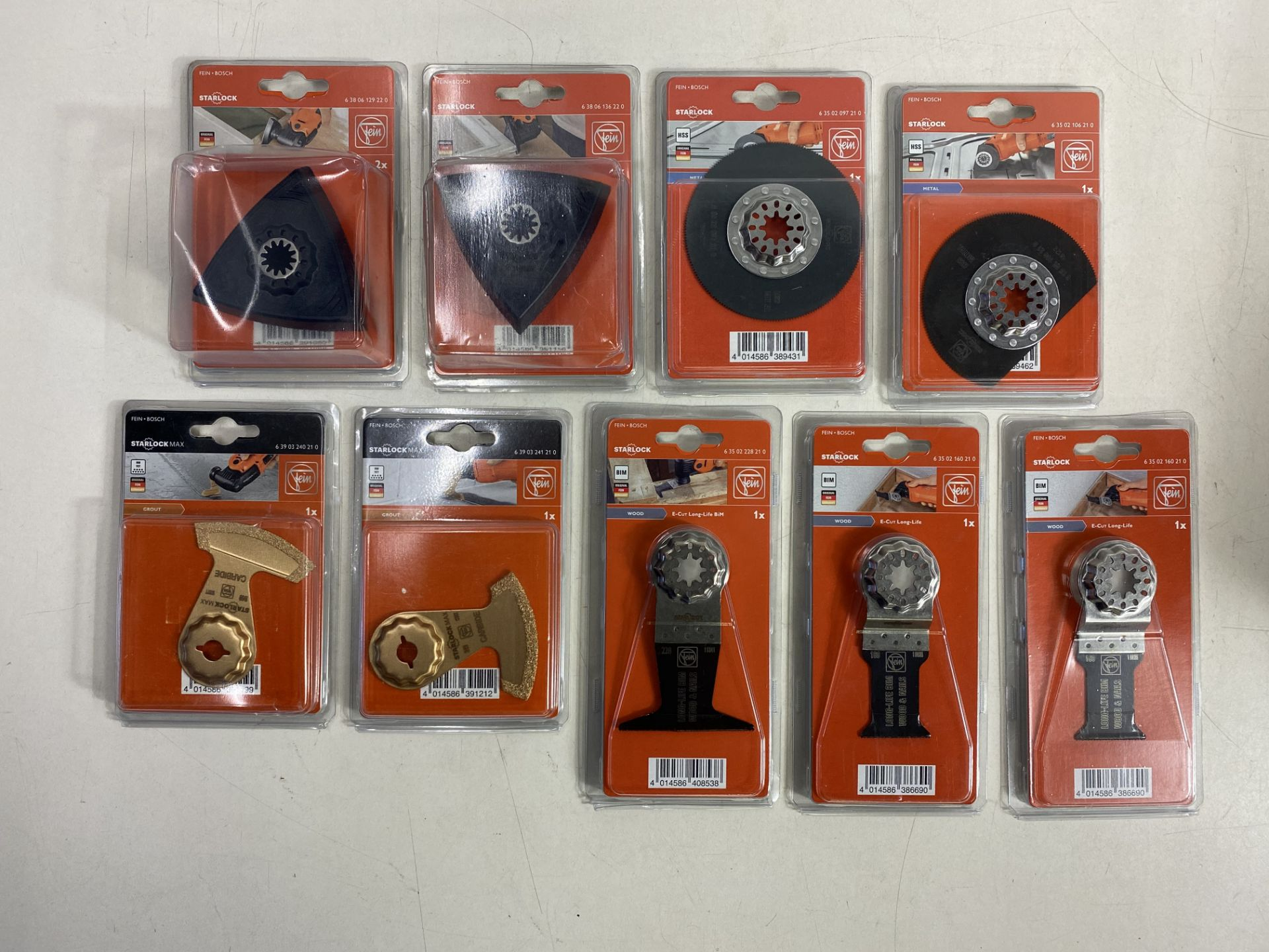 Lot 68 - Mixed Lot Of Fein Accessories
