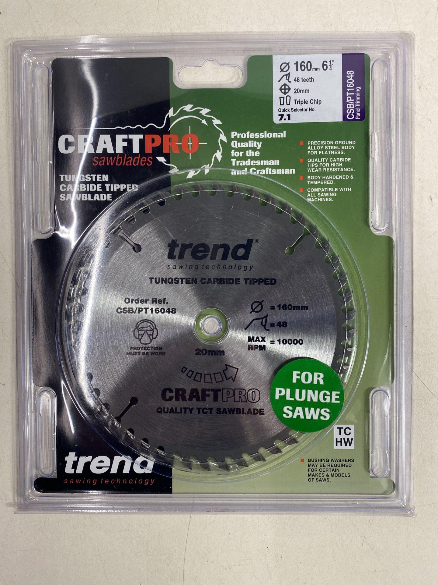 Lot 67 - 6 x Various Trend Craftpro Sawblades