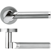 3 x Karcher Design Starlight R38 Stainless Steel Set Of Door Handles