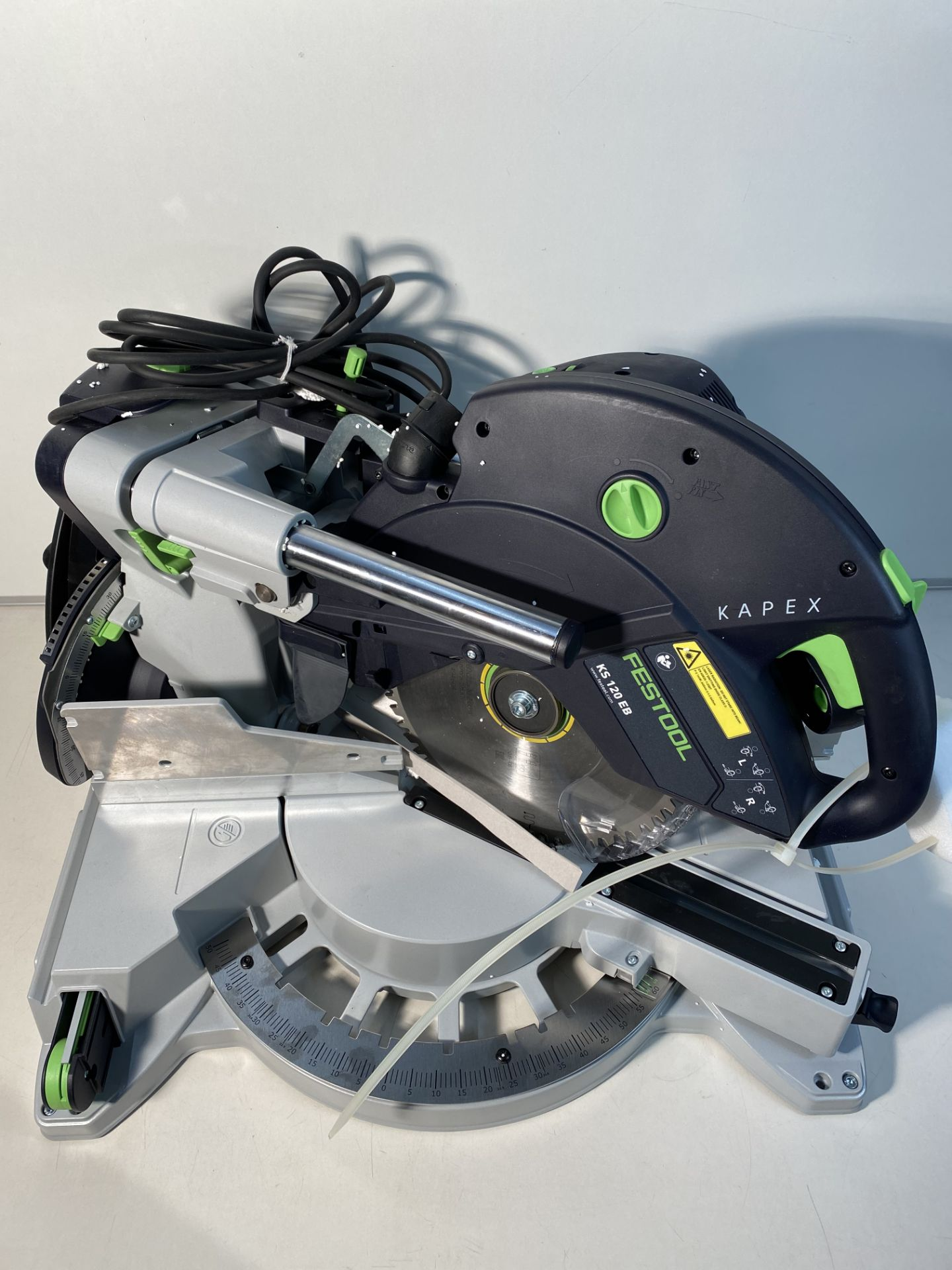 Lot 1 - Festool Sliding compound mitre saw KAPEX KS 120 REB 240V
