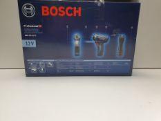 Bosch GSR Hex 12V Cordless Drill Driver, Euro Plug