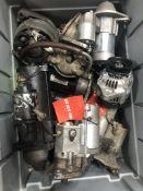 Quantity of Various Spare & Repair Starter Motors/Alternators