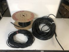 Mixed Lot of 2 & 3 Core Electrical Wiring as per pictures