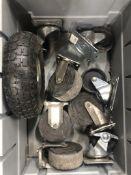 Quantity of Various Spare & Repair Wheels/Castors
