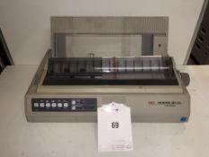 OKI Microline 321 Elite A4 Mono Dot Matrix Printer